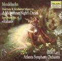 A midsummer Night's Dream Overture/Symphony No.4 'Italian'