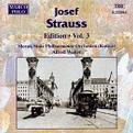 Josef Strauss: Edition, Volume III