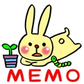 Memo Pad Widget RABBIT Free (Android)