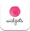 PinkApp Widgets — view dribbble shots in the notification center (iPhone / iPad)