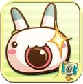 Nabbit Cam by PhotoUp - Cute  Rabbit Bunny Cat Stamps Photo Frame Filter Decoration App (iPhone / iPad)