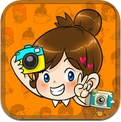 GirlsGang Stamp by PhotoUp - cute girl doodle stamps for decorate photos (iPhone / iPad)