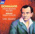 Dohnanyi/String Quartets No 2 & 3