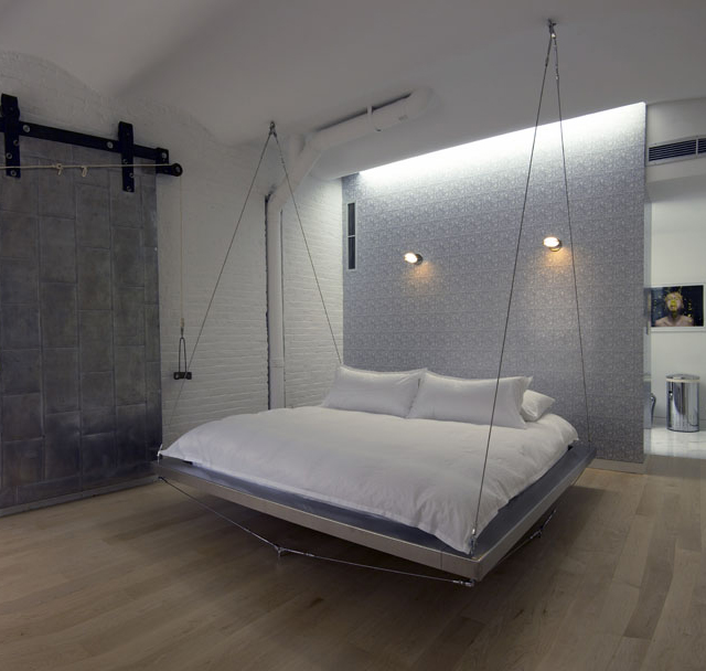Floating Bed by Bernstein Architecture的图片