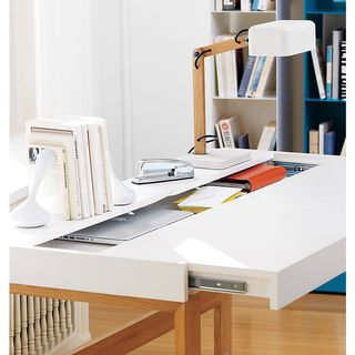Sliding Desktop Table by Manuel Saez - $509