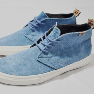 VANS  SUEDE CHUKKA DECON California2013 蓝色