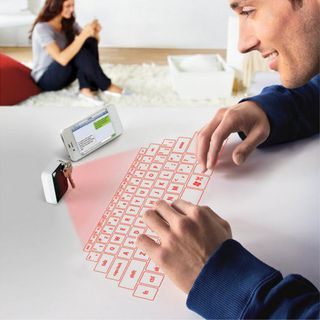 Virtual Laser Projected USB Bluetooth Keyboard & Touchpad的图片