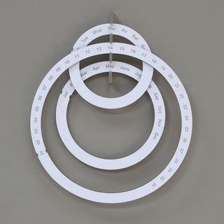 Ring Calendar by Sebastian Bergne