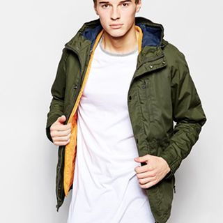 Pull&Bear Hooded Parka Jacket的图片