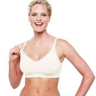 Bravado Designs Body Silk Seamless Nursing Bra Ivory - Large