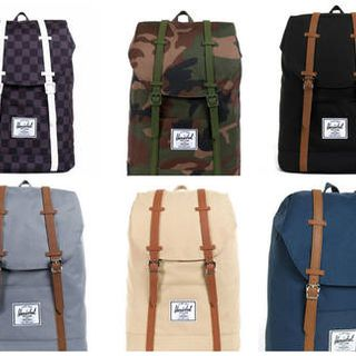 Herschel Supply retreat little america双肩包 美国代购直邮的图片