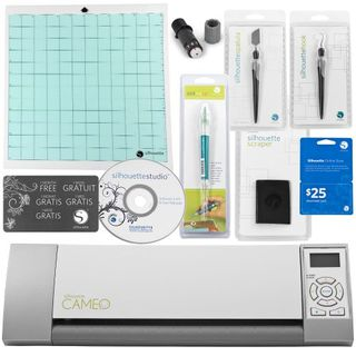 Silhouette Cameo Digital Craft Cutter with Janome Artistic Pack including 4 Tools and $50 in Downloads!的图片