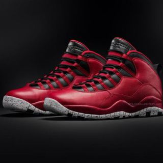 Air Jordan X 10 Bulls Over Broadway Gym Red