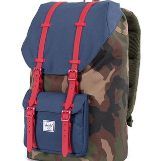 Herschel Supply Little America 迷彩撞色双肩包的图片
