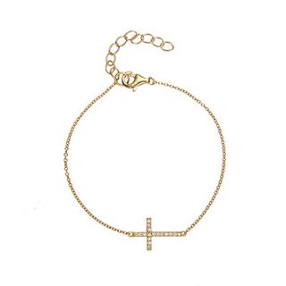 Celestine【Exclusive】Cross Bracelet 十字架 手链