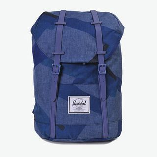 【YOHO正品】Herschel Supply RETREAT-NAVY PORTL 双肩包 蓝色