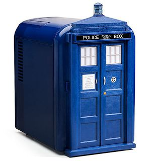 Doctor Who TARDIS Mini Fridge的图片