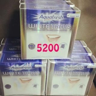 【5200】美国代购GSK Aquafresh WhiteTrays美白牙贴牙托美白牙齿