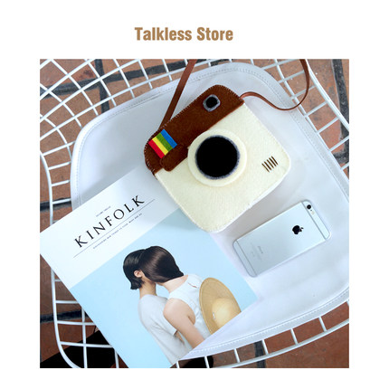 「Talkless Store」手作 Instagram DIY 韩国ulzzang相机斜跨包