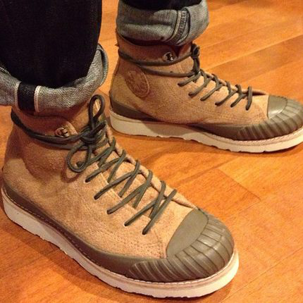 Converse First String vibram Bosey suede boot