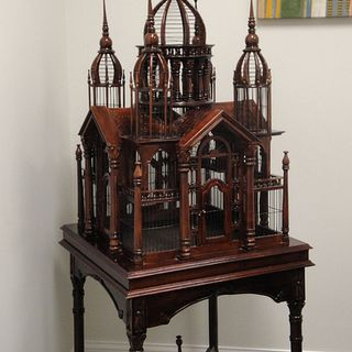 Victorian Antique Bird Cage的图片