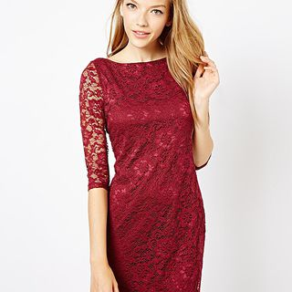 The Style Lace Dress的图片