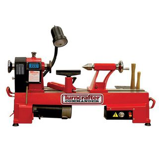 PSI Woodworking TCLC10VS Commander 10-Inch Variable Speed Midi Lathe