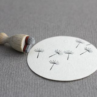 Stamp Dandelion mini