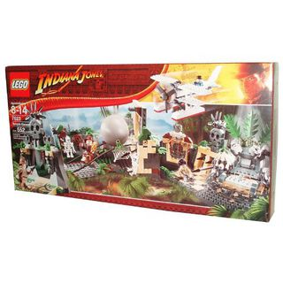 Lego Indiana Jones Series Adventure Pack Set # 7623 - TEMPLE ESCAPE with Indiana Jones 乐高 印第安纳琼斯