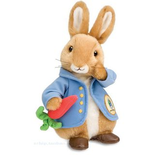 Peter Rabbit毛绒公仔