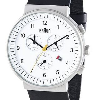 Braun BN0035WHBKG Men's Chronograph Watch