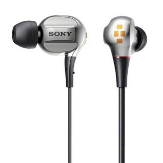 Sony XBA-40/S Silver | Quad Balanced Armature In-Ear Headphones (Japanese Import)的图片