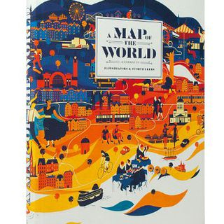 A Map of the World: The World According to Illustrators and Storytellers 地图插画的图片