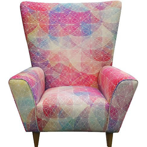 Simon C Page Cuben Io Wingchair Limited Edition Chair