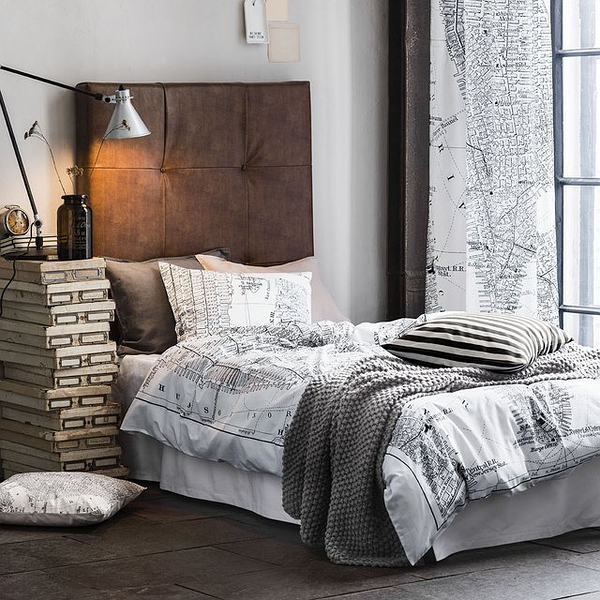 Manhattan Print Duvet Cover by H&M Home的图片