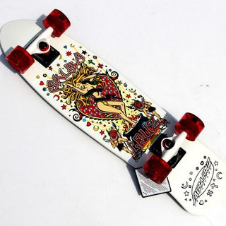 Salba Witch Jammer Cruzer 7.65in x 30.5in Santa Cruz Skate 滑板