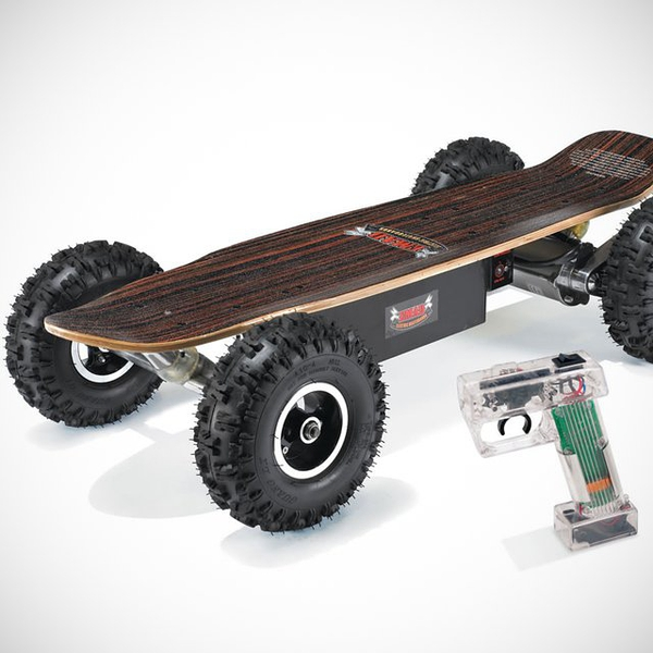 Dirt Rider Electric Skateboard by EMAD