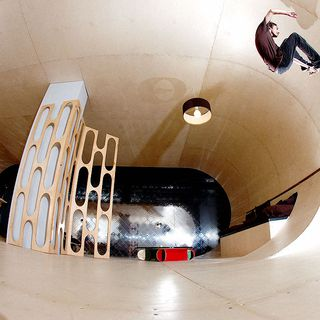 Skateboard House by PAS的图片