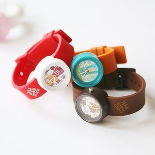 韩国进口 richbon正品 My pets watch 手表限量版