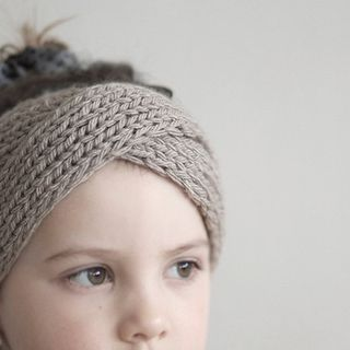 Twisted Knit Headband For Girls (various color)