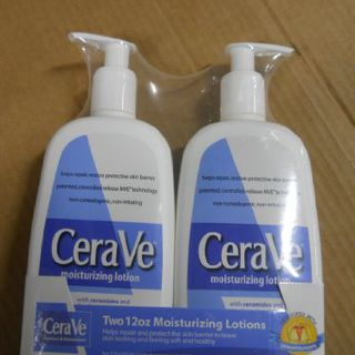 Cerave Moisturizing Lotion 12 Oz (2 Pack)的图片