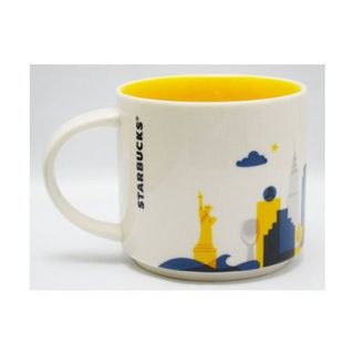 Starbucks New York City, You Are Here Collection, Mug Coffee Cup Special Edition with Original Starbucks Box