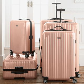 日默瓦 限量版 珠光粉 拉杆登机箱 Rimowa Salsa Air 20寸及以上