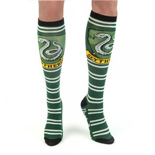 Harry Potter Slytherin Knee High Socks的图片
