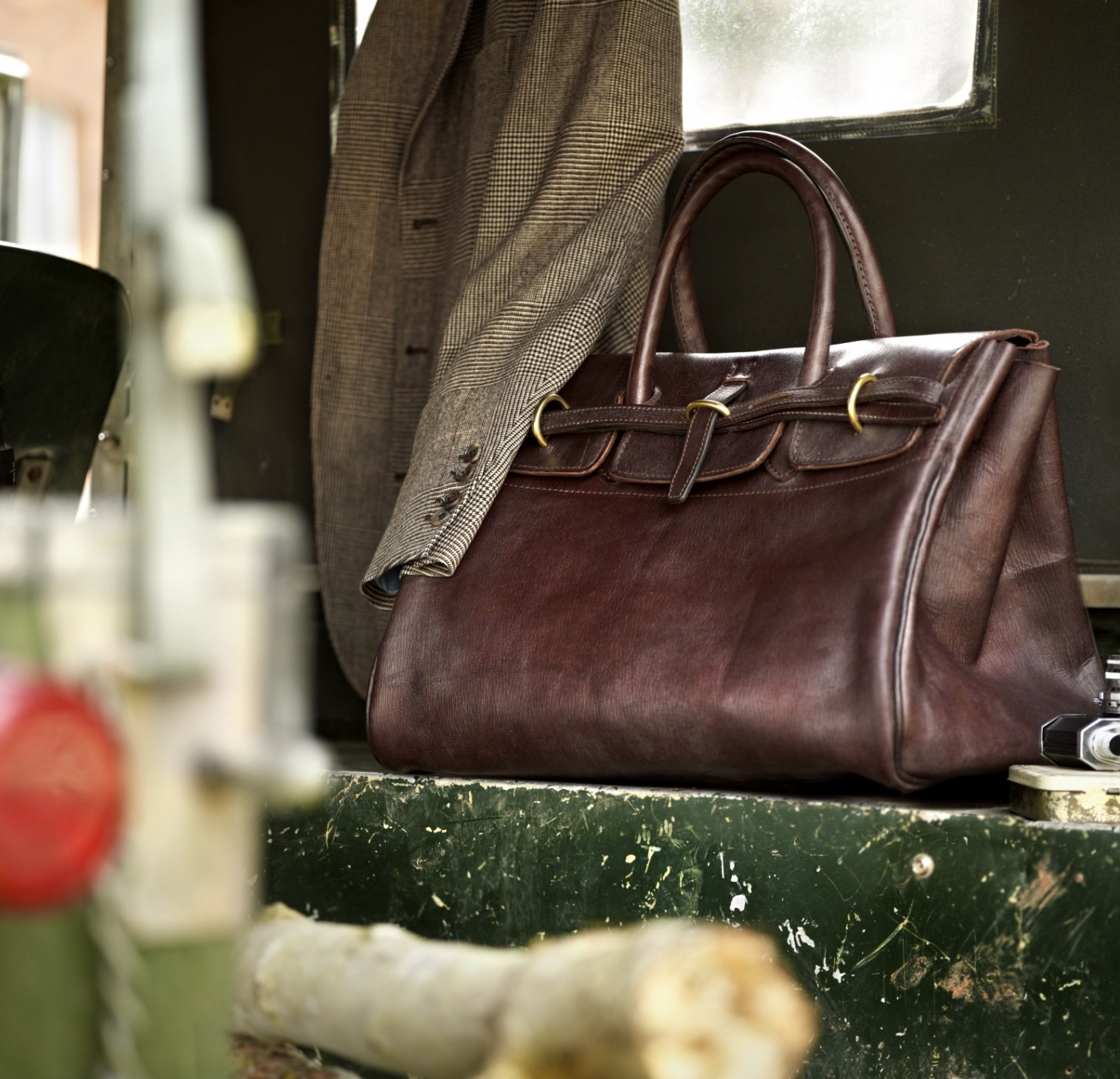 The Merchant Fox Holford Holdall
