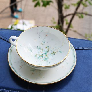 英国下午茶 杯碟 骨瓷 24K PK Royal Albert Doulton Tiffany T05