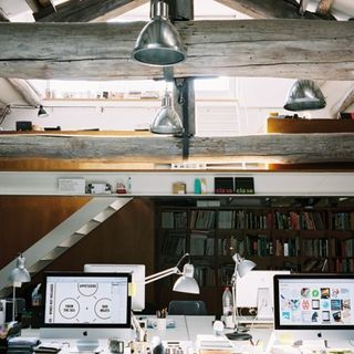 37 Cool Attic Home Office Design Inspirations | Design | News, E-learning, Architecture of the future at news.arcilook.c