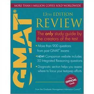 The Official Guide for GMAT Review, 13th Edition的图片