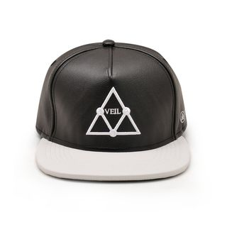 VEIL TRI Leather big logo SNAPBACK 皮款的图片