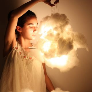 Cotton LED Clouds